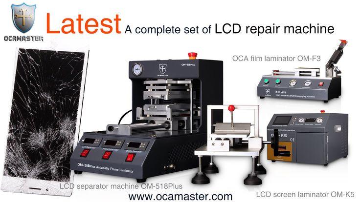 OM 518Plus LCD repair machine automatic iphone lamination machine