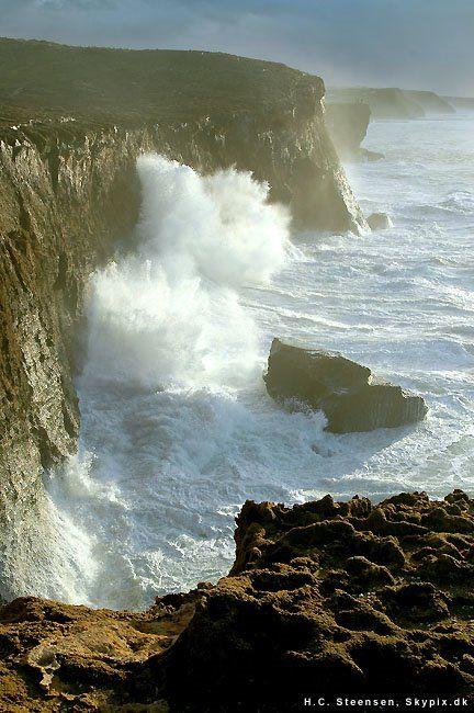 The coast at Monte Clérigo, Aljezur, Portugal