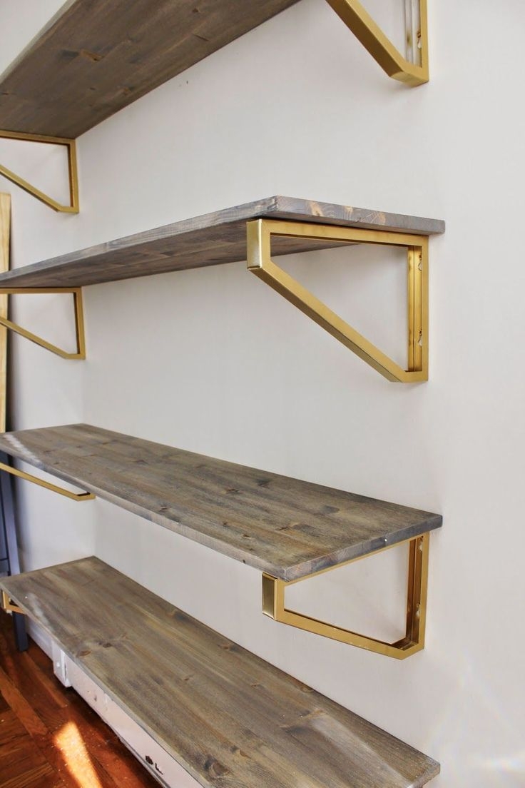 25 Best Ideas About Wooden Shelf Brackets On Pinterest