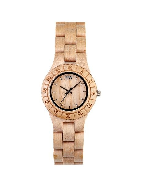looks like rose gold but is actually neutral wood - stunning