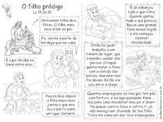 Jardim da Boa Nova: Aprendendo com as Parábolas - Parábola do Filho Pródigo