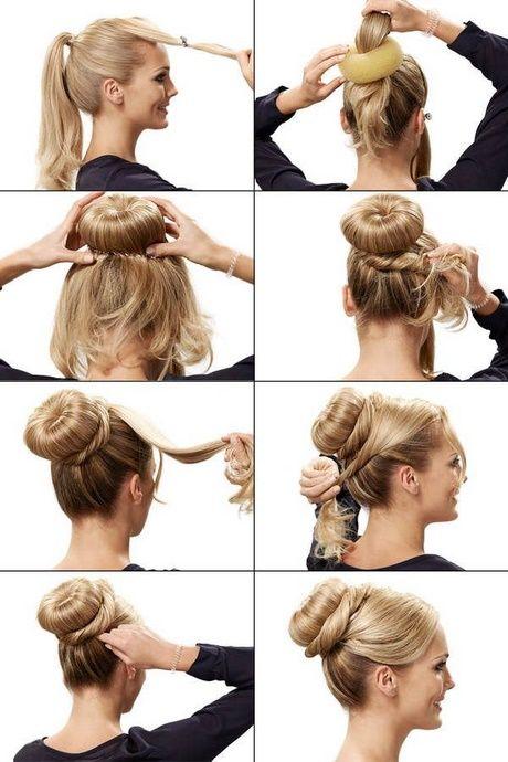 Schnelle frisuren mit langen haaren