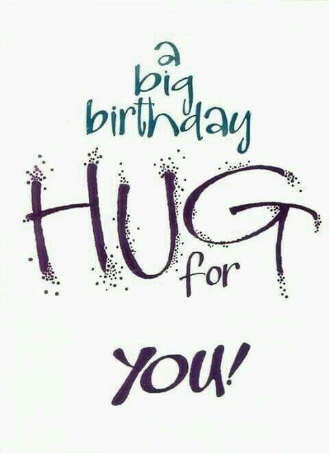 Happy Birthday Hug
