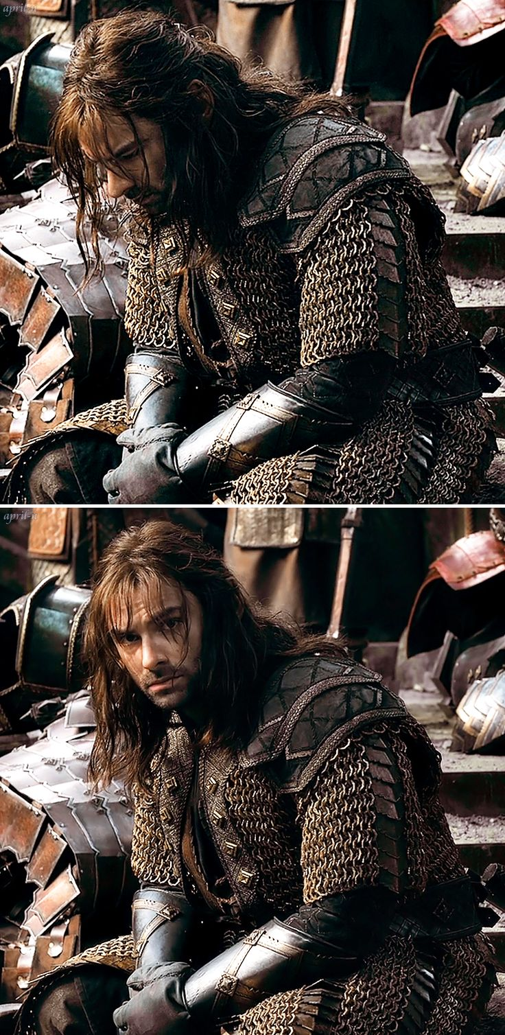 I know it's Kili...but it looks kinda like that picture you just pinned for Rueben. ;)