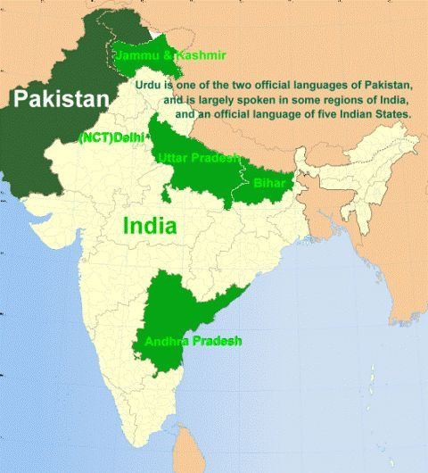 Best India Official Language Ideas On Pinterest History Of - Where is hindi spoken in the world