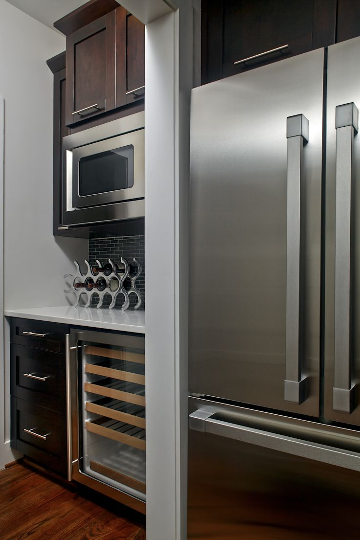 42 best modern kitchens images on pinterest contemporary for Modern walk in pantry