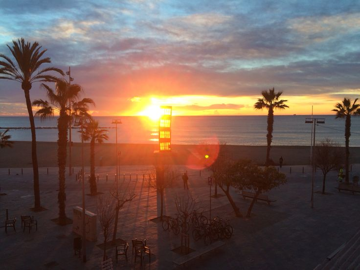 Sunrise Barceloneta