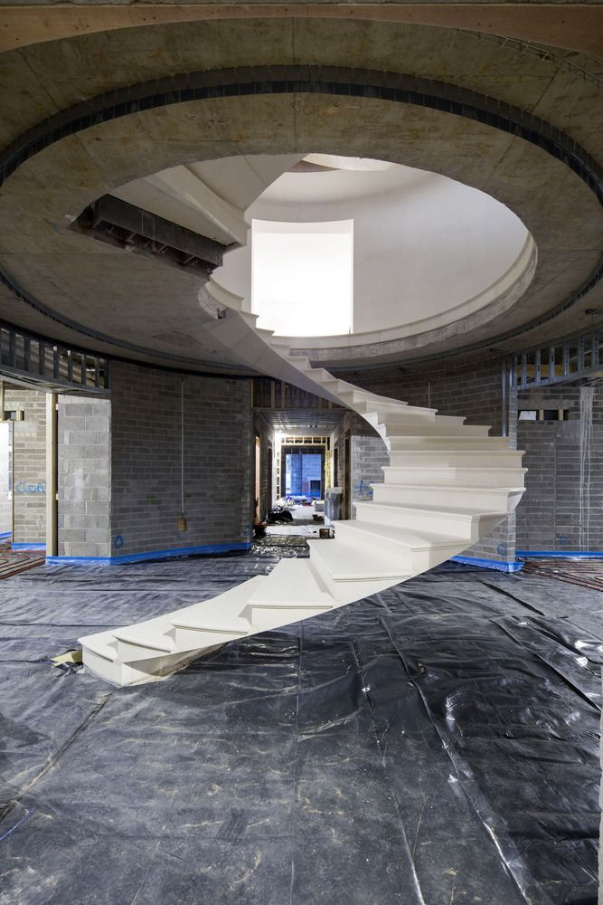 Gallery of See The Engineering Behind This Floating, Award-Winning Stone Helical Stair - 8                                                                                                                                                                                 More