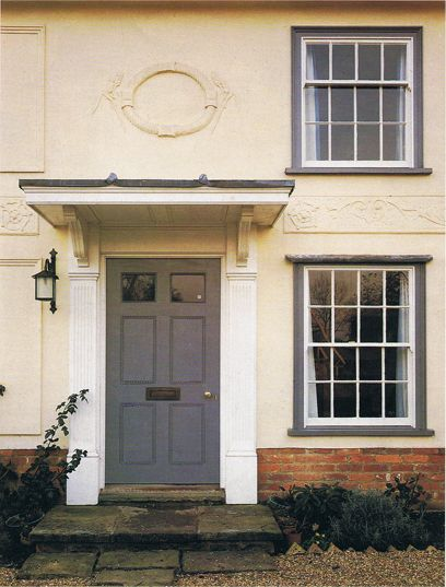 25 best ideas about front door overhang on pinterest - Georgian style exterior lighting ...