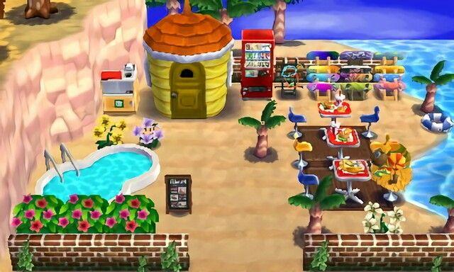 Frita 39 S Fast Food Restaurant Animal Crossing Happy Home Designer 2 Achhd Pinterest Animal