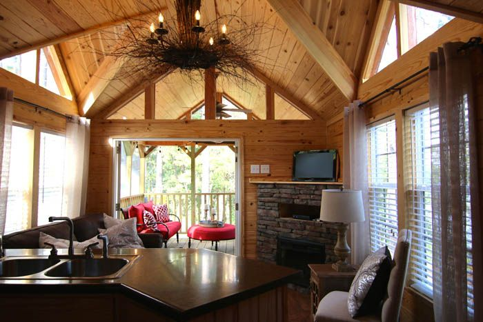 The Chattahoochee: A Stunning Park Model Home With Rustic Flavor Posted By  Mike On May · River ParkTiny House ...