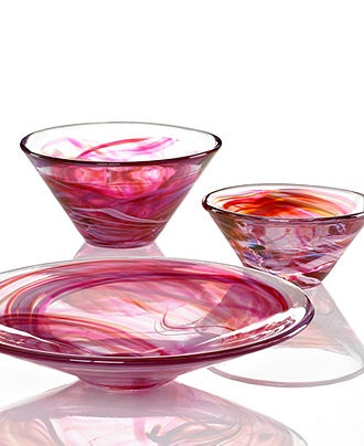 KOSTA BODA #pink #bowl #registry BUY NOW!