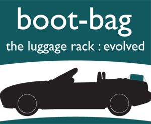 this is our logo ! The car luggage rack evolved