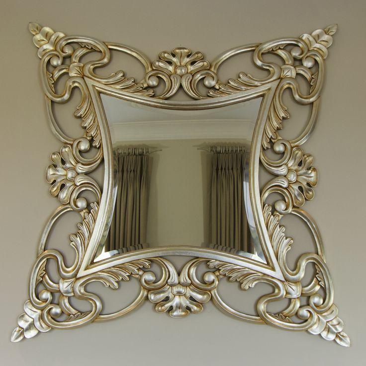 Gold mirror interior design www.suescammellinteriors.co.uk