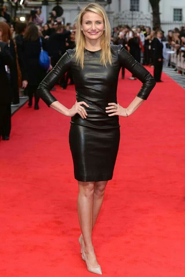 Cameron Diaz Leather Dress Shop Your Perfect Leather