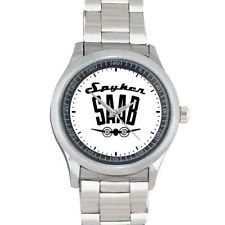 Spyker Saab Automobile Exclusive Logo Custom Watch   Our watches are made of high quality polished stainless steel with Miyota watches movement made by citizen. Image printed on watches.
