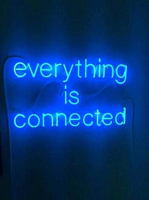 Image Result For Dark Blue Aesthetic Night Neon Quotes Neon Words Neon Signs