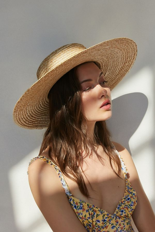 38c02d2a127085 UO Large Straw Boater Hat in 2019 | Everyday Stylish Fashion ...