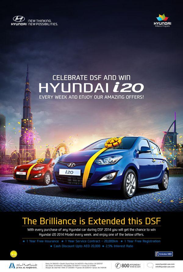 Hyundai Dsf Campaign By Icon Advertising Amp Design Fz Llc