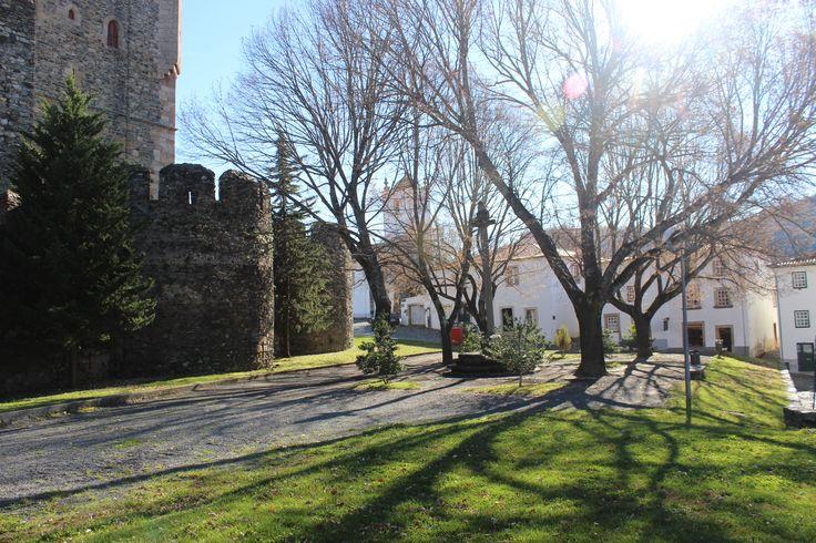 Castle grounds in #Bragança #Portugal