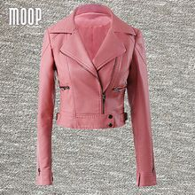 Tag a friend who would love this!|    Cutting edge arriving Pink black PU leather jackets women short motorcycle jacket faux leather cropped veste en cuir femme LT458 Free shipping now for sale $US $96.20 with free shipping  you may see that item along with much more at our favorite on-line store      Find it today right here >> https://tshirtandjeans.store/products/pink-black-pu-leather-jackets-women-short-motorcycle-jacket-faux-leather-cropped-veste-en-cuir-femme-lt458-free-shipping…