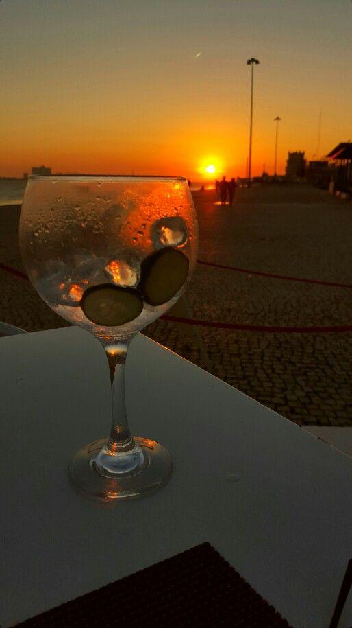 Gin sunset