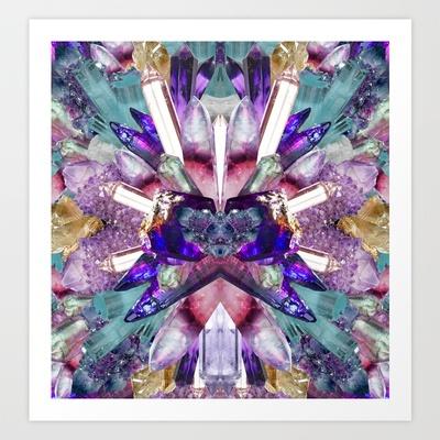 Crystalgift Art Print by TrineSejrup - $13.52