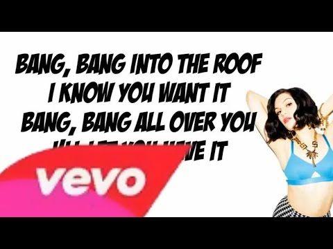 Jessie J - Bang Bang Lyrics Video (Ft Ariana Grande & Nicki Minaj) - YouTube