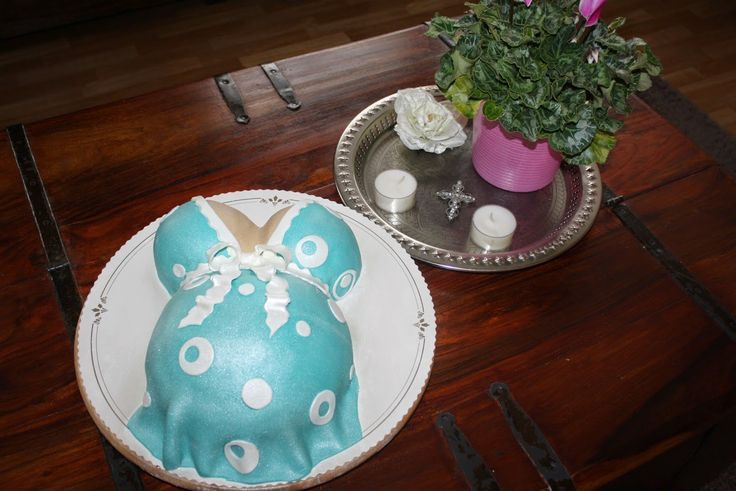 A Babyshower -cake made by Nilla Hautasaari