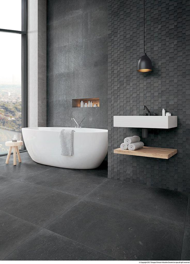 Oltre 25 fantastiche idee su piastrelle per bagno vintage - Posare piastrelle su piastrelle ...