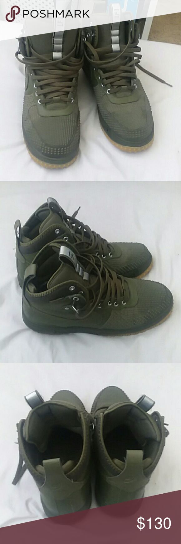 Nike lunar force ones boots condo 9/10 They come in the original box only wore them a few times . Nike Shoes