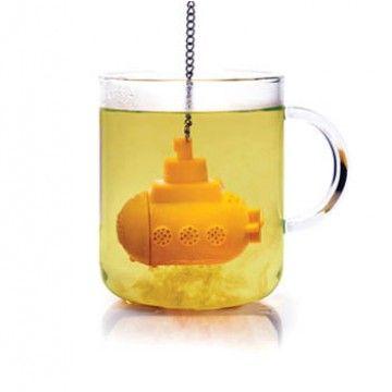 "Infusor de té Submarino Amarillo ""Tea Sub"""