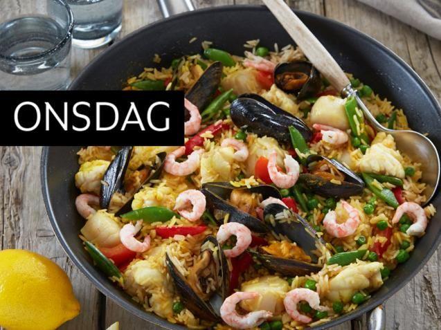 paella: Paella med breiflabb og kamskjell - KK.no