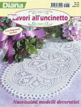 MAGAZINE: Diana's crochet magazine ♥LCB-MRS♥ with diagrams.