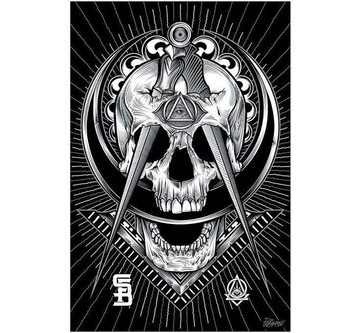 De 25 bedste id er inden for freemason tattoo p pinterest for Secret design