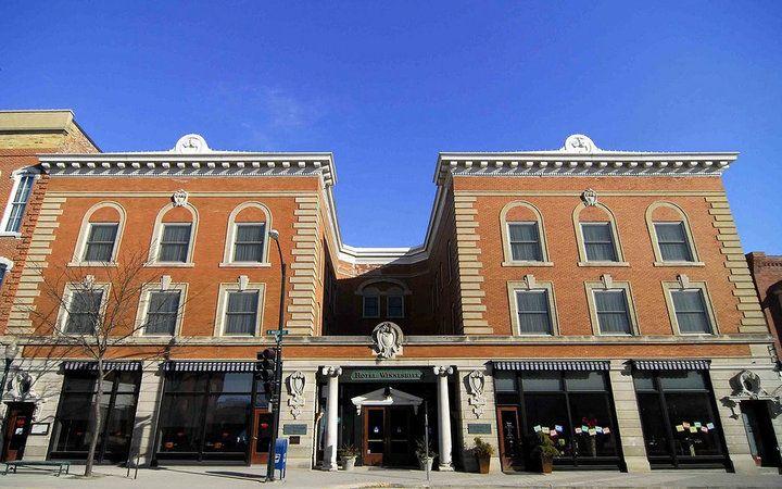Romantic Getaways USA,  Hotel Winneshiek in Decorah, IA