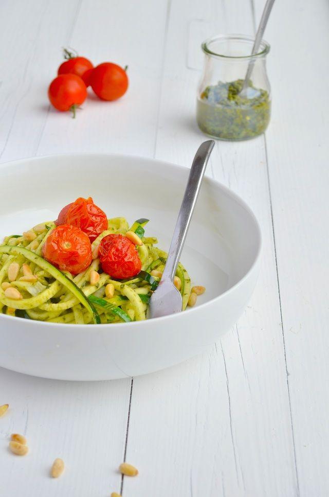 pasta van courgette - zuchetti #voedselzandloper #healthy