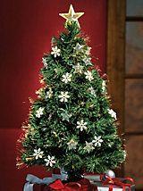 Fiber Optic Rotating Christmas Tree   Haband