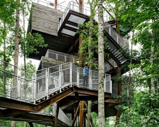 Mithun, Seattle, AIA, Boy Scouts of America, Treehouse, Educational, Architecture, photovoltaic, water reuse, wind power, Living Building Ch...