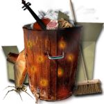 Steampunk Recycle Bin Icon MkIII