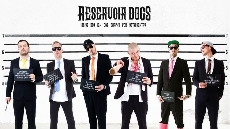 Bliss n Eso - Reservoir Dogs Feat. 360, Pez, Seth Sentry & Drapht (Circus In The Sky)) hilltop hoods were busy