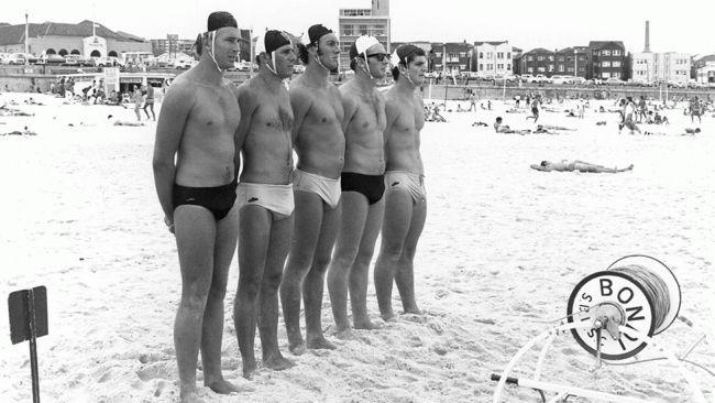 Lifeguards on Bondi Beach 1970