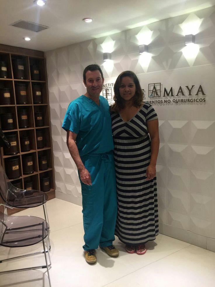 Listos para cirugía con nuestra paciente que nos visita desde Atlanta 🇺🇸 www.felipeamaya.com #InstitutoFelipeAmaya