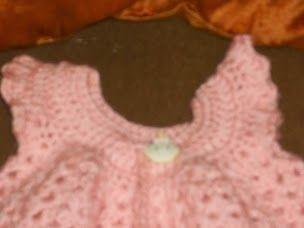 I enjoyed making this new born sweater