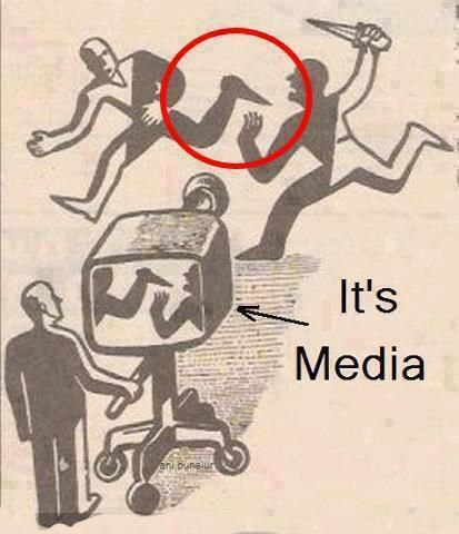 Anything you don't need to know, you learn it from Media
