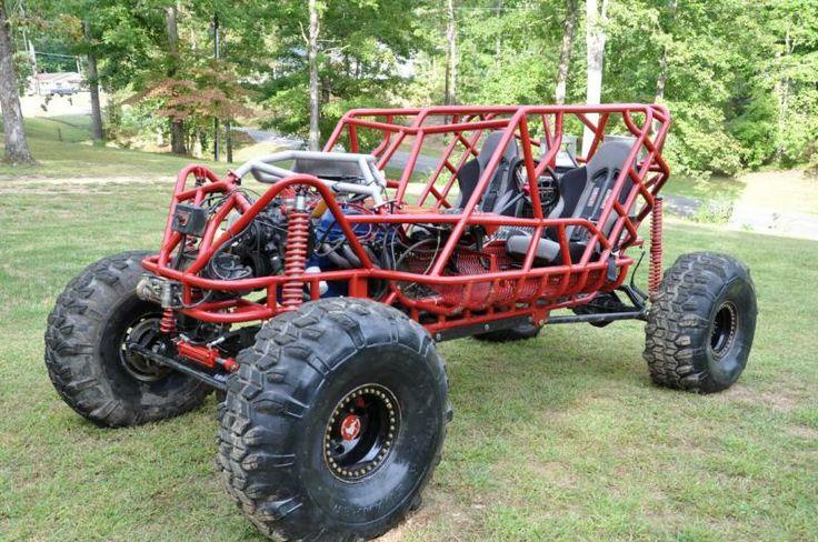 Custom Rock Crawler Full Tube Chassis Ford 460bb 205 513