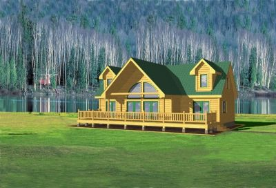Simple Log Home Floor Plans Log Cabin Floor Plans Springfield Log Home And Log Cabin