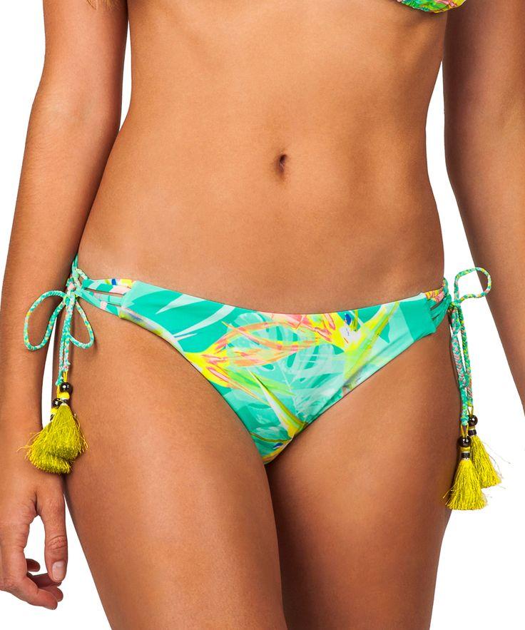 Teal Santalvo Bikini Bottoms