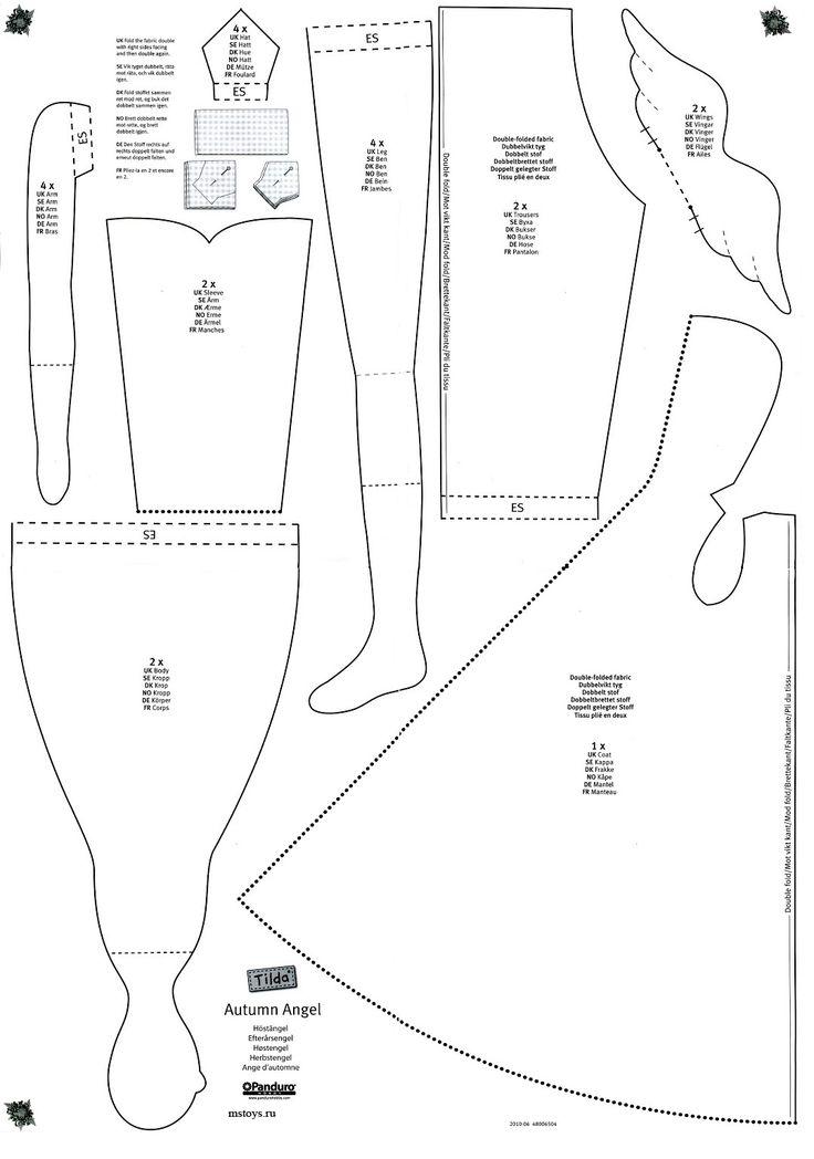 Схемы платьев, костюмов.на Тильду - Форум
