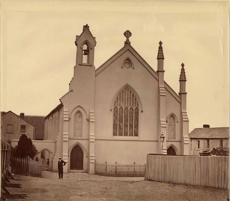St Barnabas' Church at Broadway,Sydney in 1870.